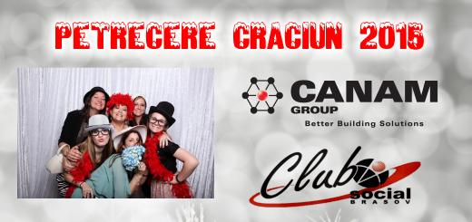 Cabina foto petrecere Craciun Canam 2015