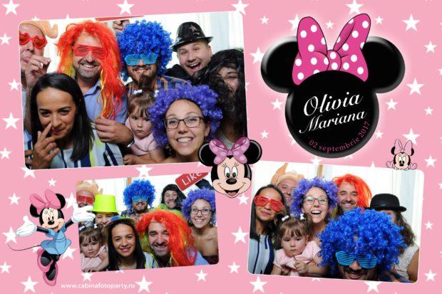 Photobooth botez Olivia Mariana