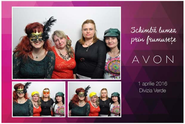 Cabina Foto Photobooth corporate - avon - predeal