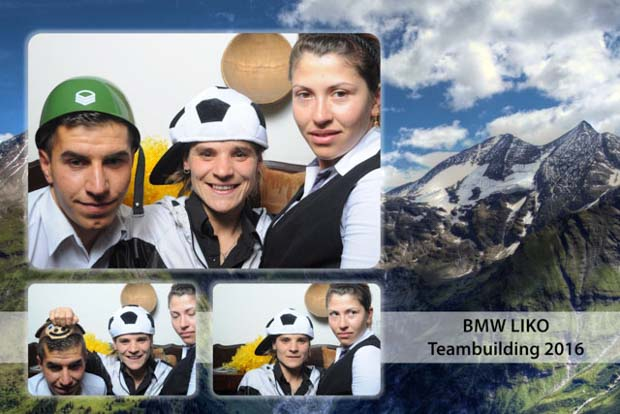 Cabina foto teambuilding Lyko Fundata Bran