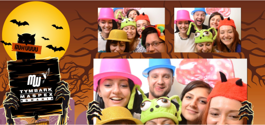 Cabina foto corporate - Tymbark halloween party small