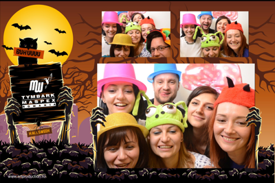 Cabina foto corporate - Tymbark halloween party