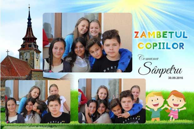 Cabina foto eveniment pubic - zambetul copiilor