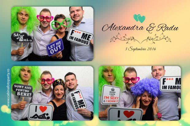 Cabina foto nunta - Alexandra si Radu - Brasov Dambu Morii