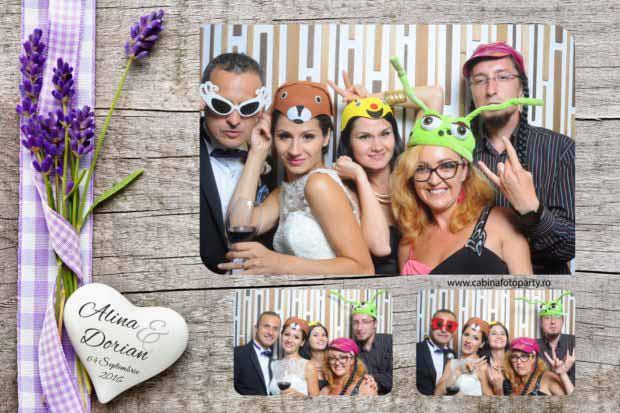 Cabina foto nunta - Alina si Dorian - Brasov Yaz