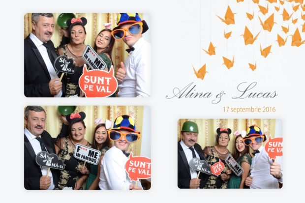 Cabina foto nunta - Alina si Lucas - Poiana Brasov