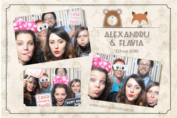 Cabina foto nunta - Alxandru si Flavia - Yaz Brasov