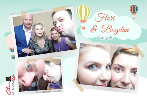 Cabina foto nunta - Bogdan si Flori - 3 stejari Brasov