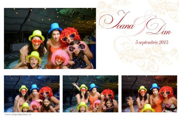 Cabina foto nunta - Ioana si Dan - yaz