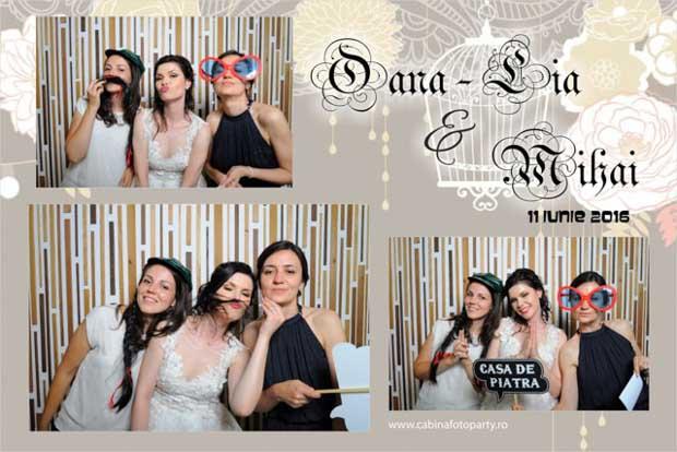 Cabina foto nunta Oana si Mihai - Yaz Hraman