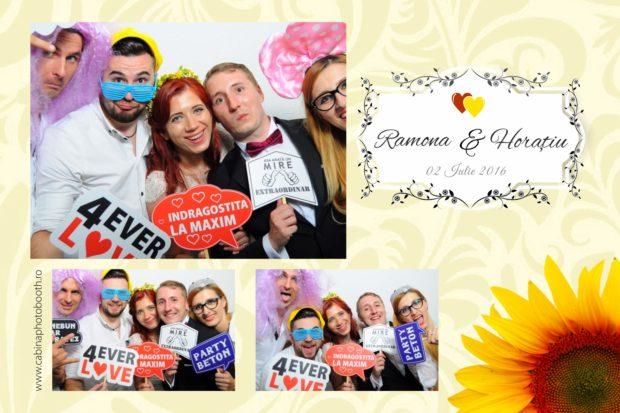 Cabina foto nunta - Ramona si Horatiu - Belvedere Brasov