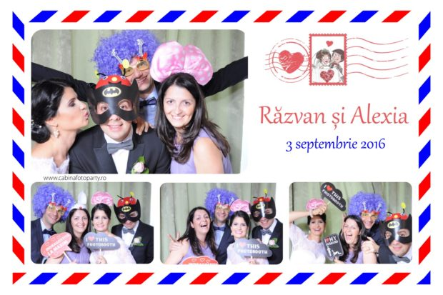 Cabina foto nunta - Razva si Alexia - Tg Mures Boema