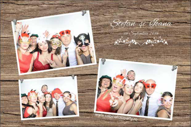 Cabina foto nunta - Stefan si Ioana Cheile Gradistei Bran