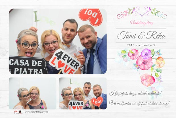 Cabina foto nunta - Tomi si Reka - Odorheiul secuiesc