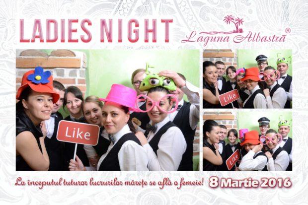 Cabina foto petrecere privata - Ladie night - Photobooth Fagaras Laguna Albastra