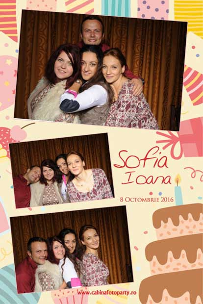 Fotografii instant la botez - Sofia Ioana