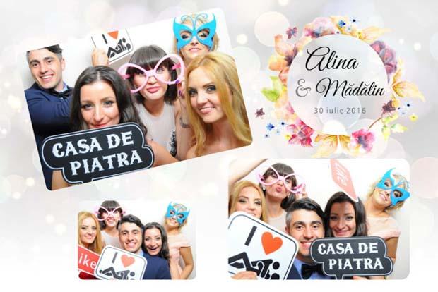 Fotografii instant magneti nunta Brasov - Alina si Madalin