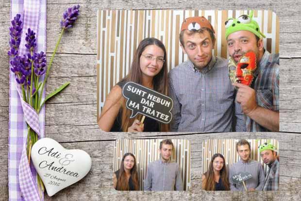 Idei cadou nunta cabina foto - Adi si Andreea