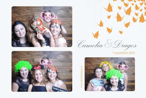 Idei cadou nunta cabina foto - Camelia si Dragos