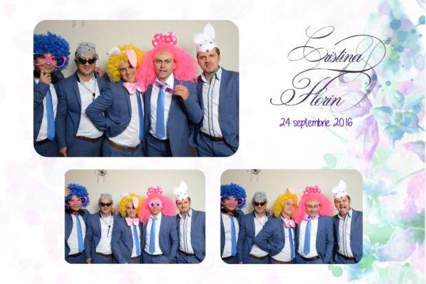 Idei cadou nunta cabina foto - Cristina si Florin