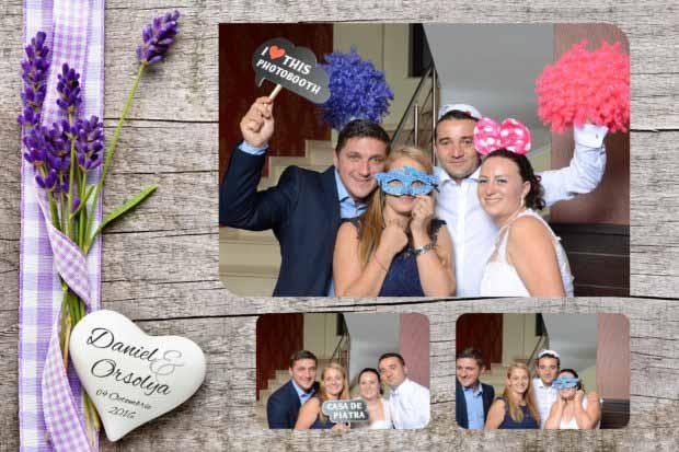Idei cadou nunta cabina foto - Daniel si Orsolya
