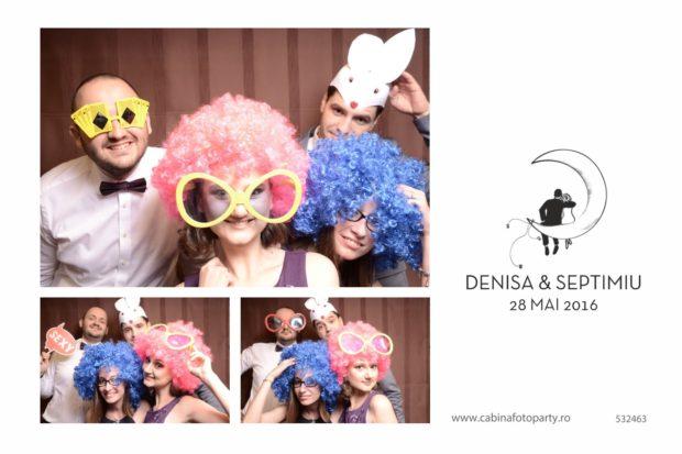 Idei cadou nunta - cabina foto Denisa si Septimiu