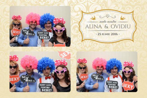 Idei cadou nunta cabina foto -Ovidiu si Alina