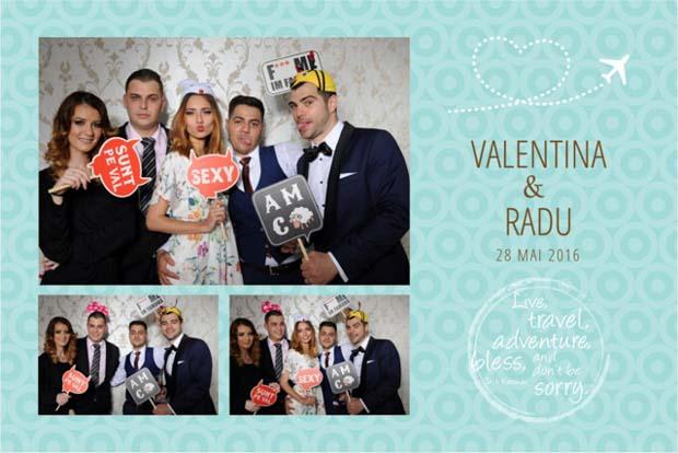 Idei trasnite pentru nunta - Valentina si Radu