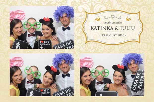 Marturie foto nunta photobooth - Katinka si Iuliu