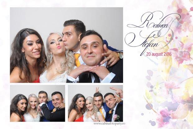 Marturie nunta cabina foto - raluca si stefan