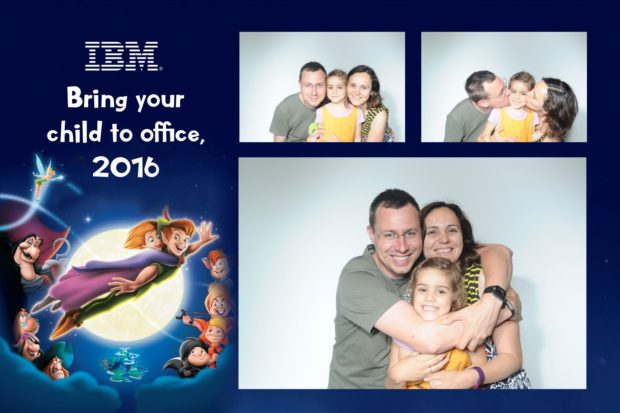 Petrecere corporate - IBM Bring your child to office