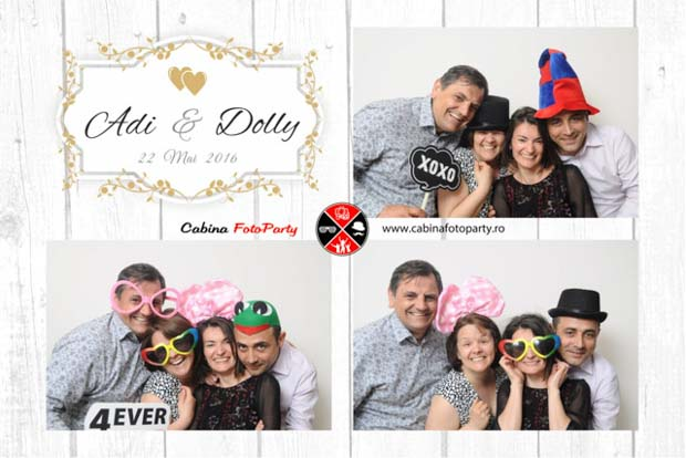 Photobooth de inchiriat Bran - Dolly si Ady