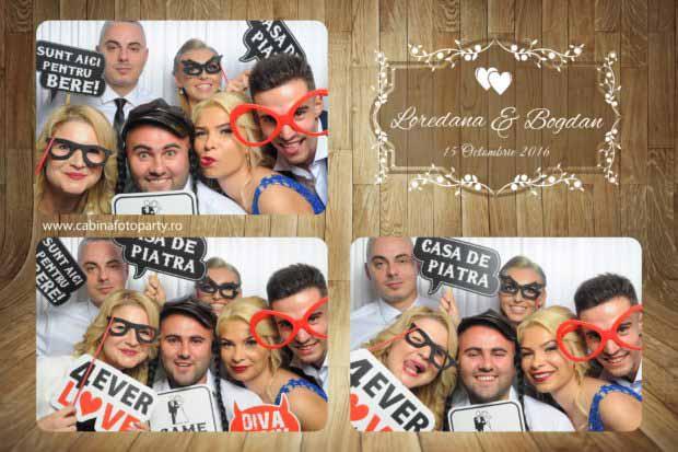 Photobooth nunta Loredana si Bogdan