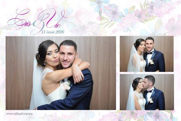 Cabina foto photobooth nunta - Cris si Vio - Kronwell
