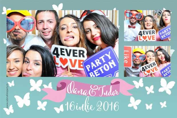 Marturie foto nunta cabina foto de inchiriat pentru nunta brasov oana si tudor