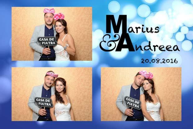 Marturie photobooth nunta - marius si andrea - Maridor Bran